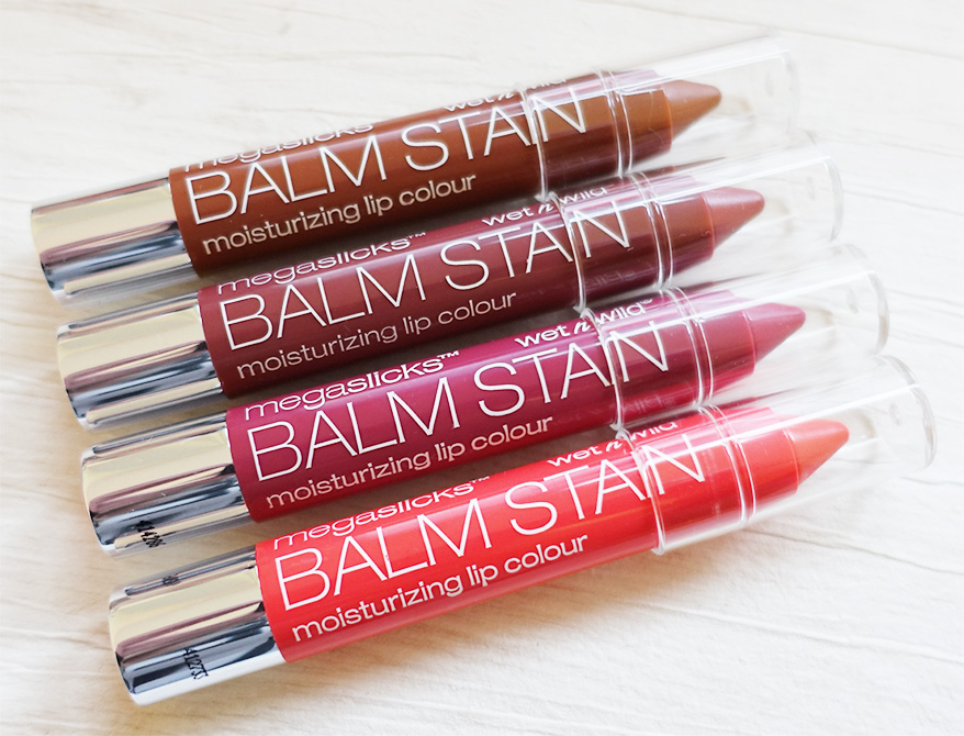 Wet n Wild Mega Slicks Balm Stain Moisturizing  Lip Colours